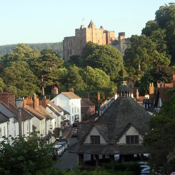 Dunster village & the castle