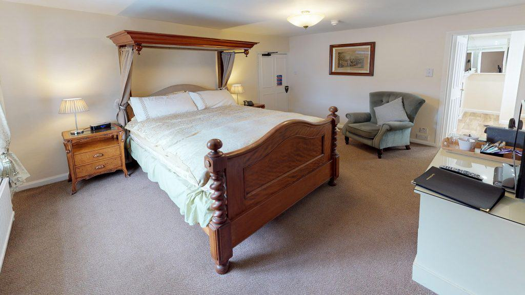 Deluxe room accommodation at The Royal Oak Withypool