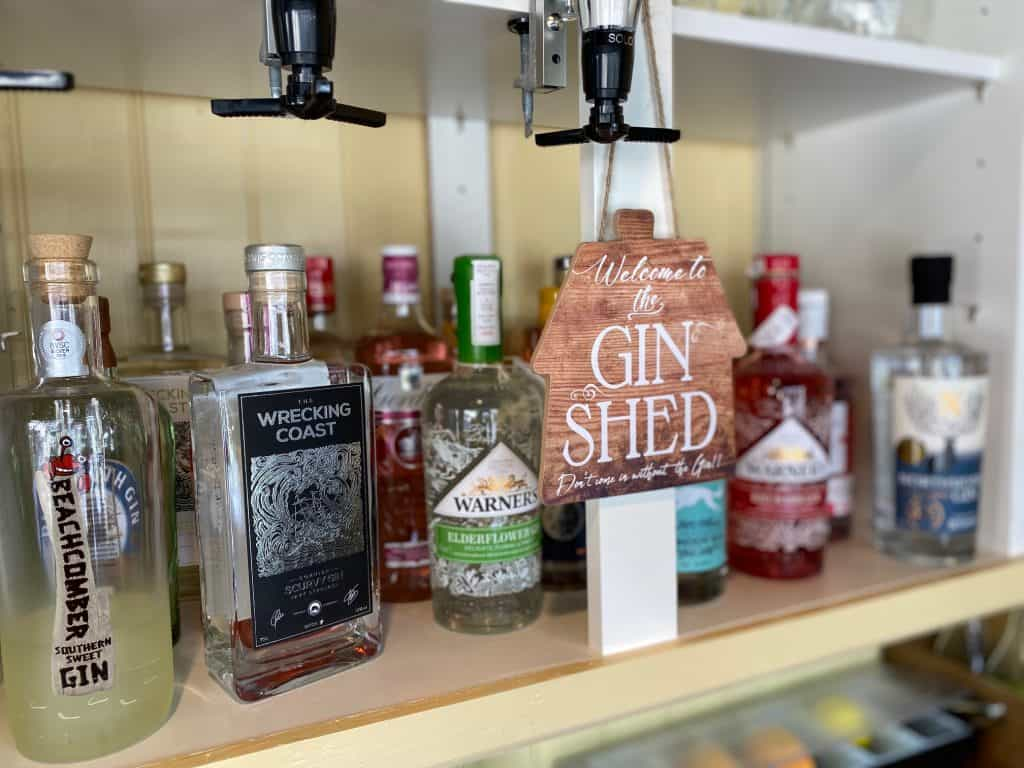 Gin Shed Royal Oak Withypool