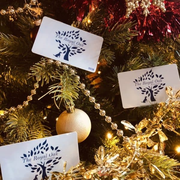 Gift Cards at The Royal Oak Withypool