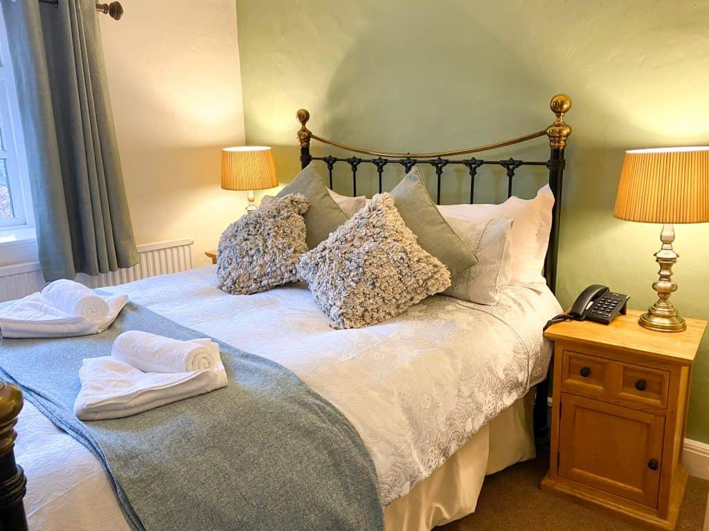 Double room accommodation Withypool Exmoor
