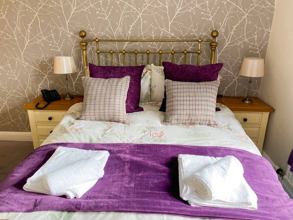 Standard room accommodation on Exmoor