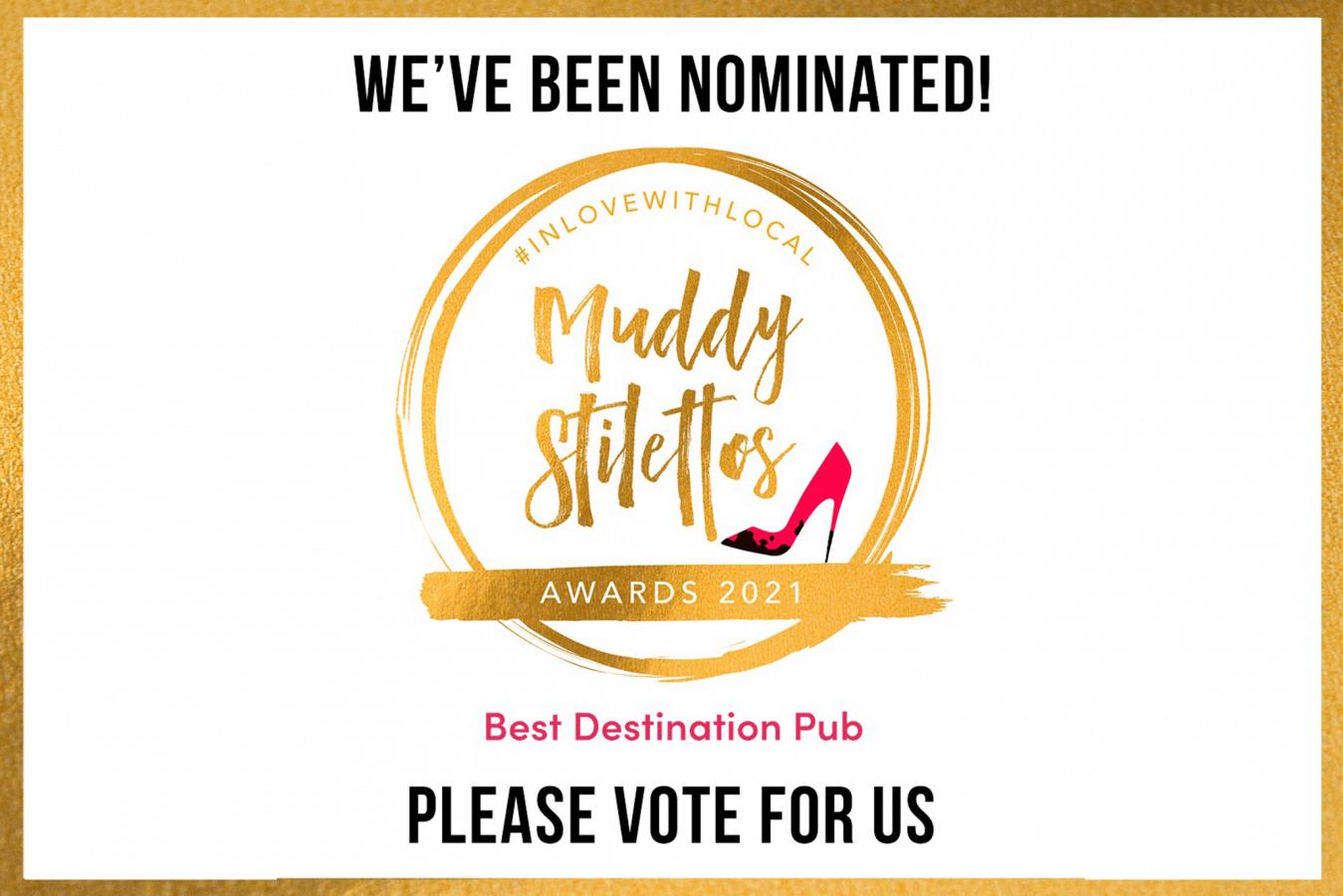 Muddy Stilettos nomination Royal Oak Withypool